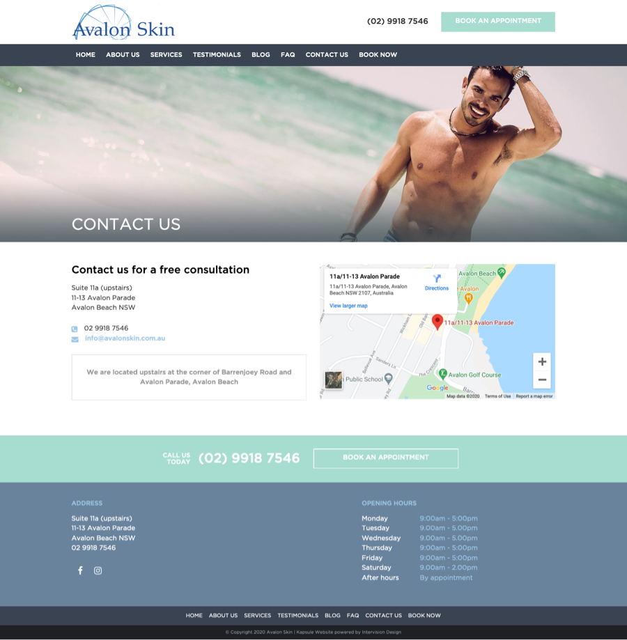 Avalon Skin by Kapsule Websites