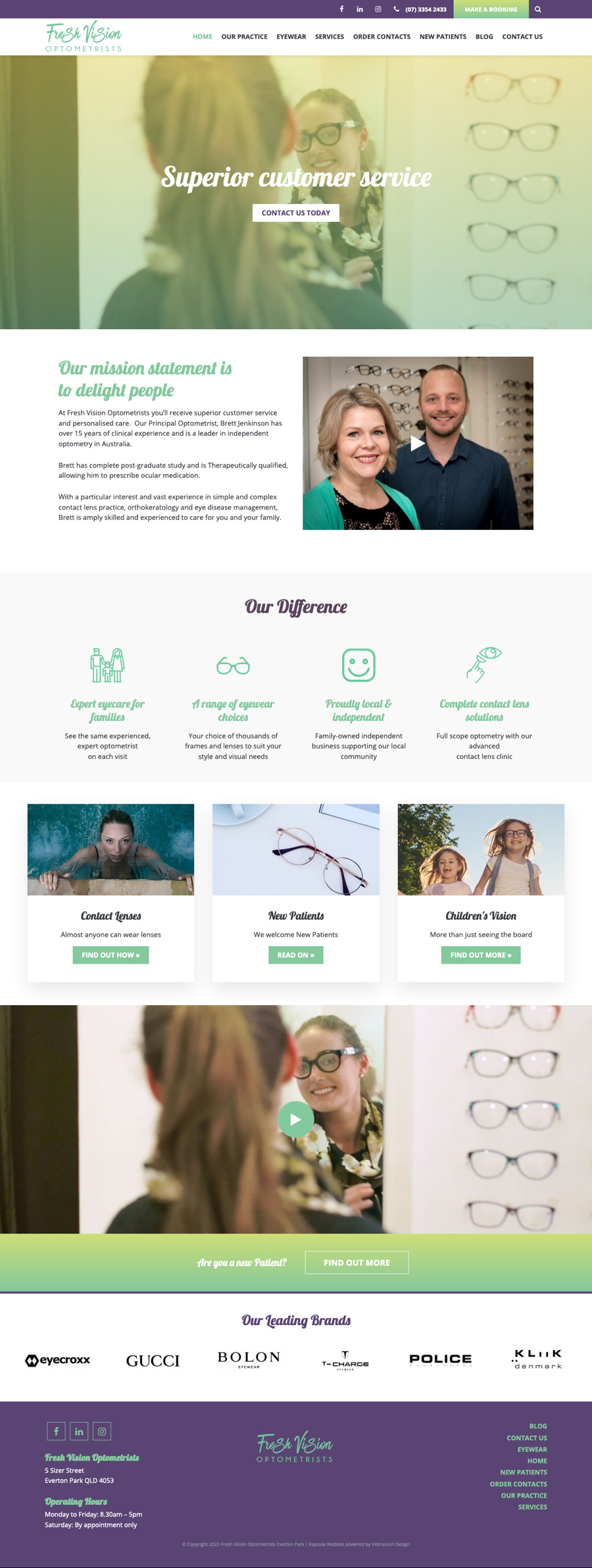 Fresh Vision by Kapsule Websites