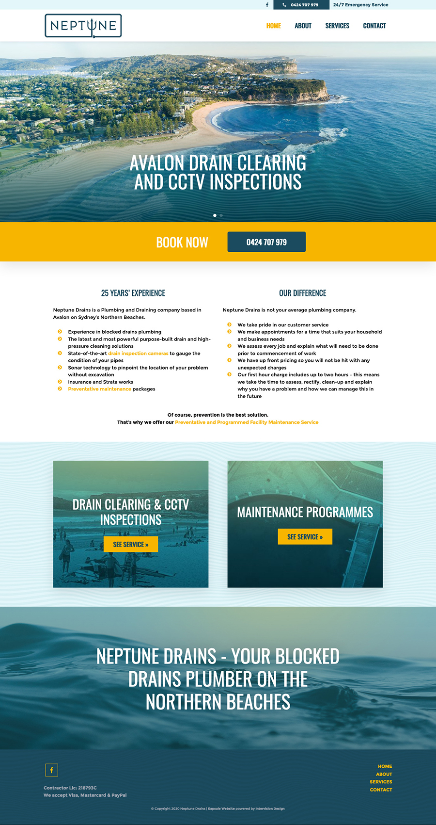 Neptune Drains by Kapsule Websites