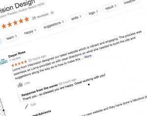 get a google review