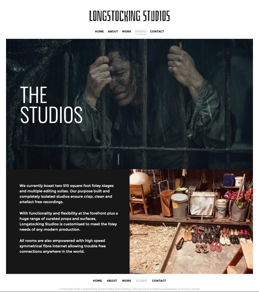 Longstocking Studios by Kapsule Websites