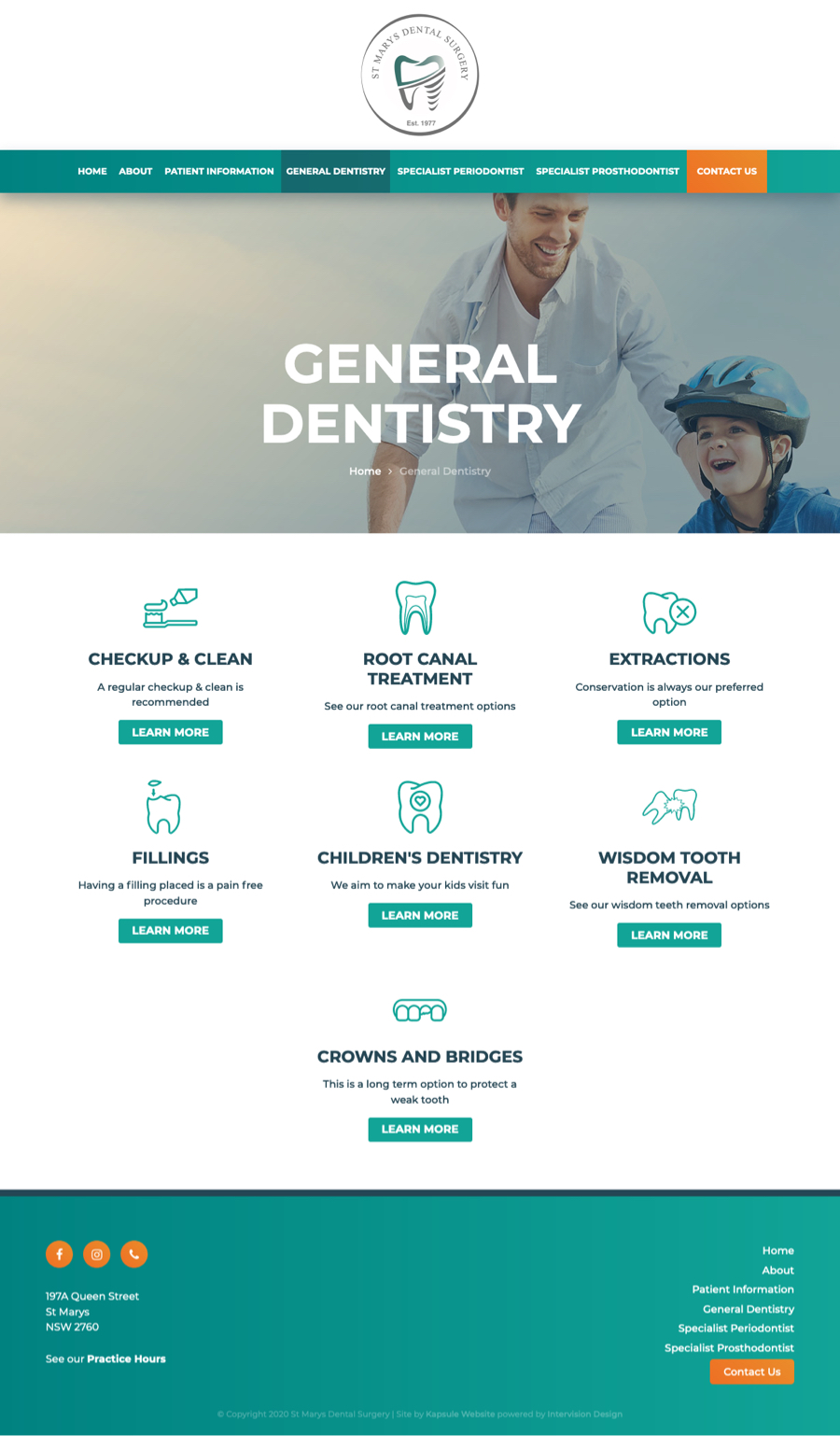 St Marys Dental Surgery by Kapsule Websites
